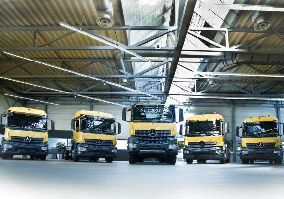 Mercedes-Benz Arocs consegnato dal Customer Center di Wörth