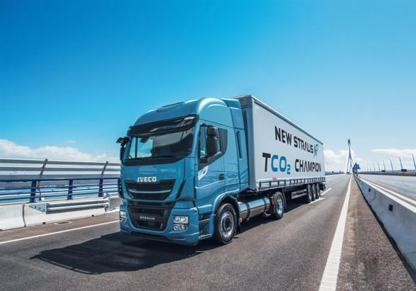 Nuovo Iveco Stralis NP a metano